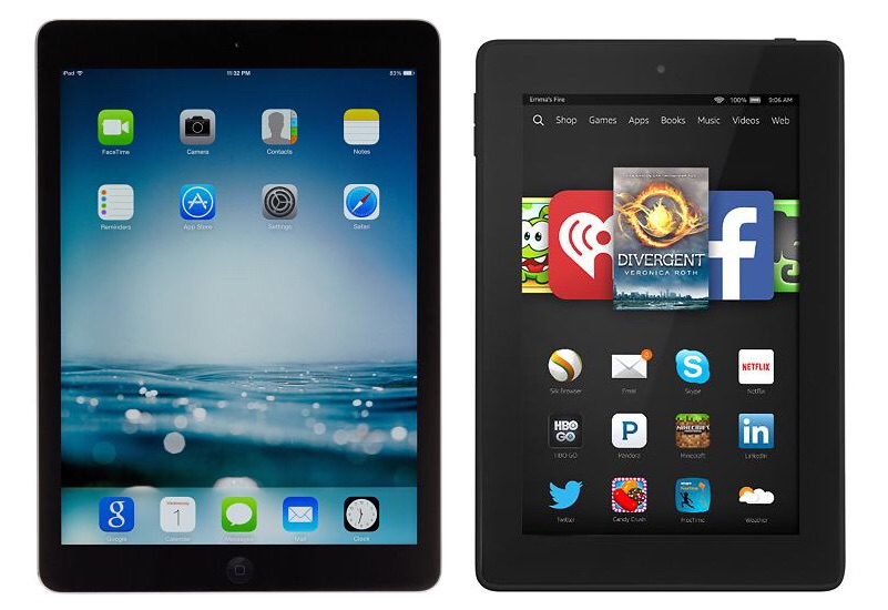 Apple Ipad Vs Kindle: Apple IPad Air Vs Amazon Fire HDX 8.9